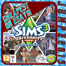 The Sims 3 University Life   PC Origin CD Key DLC PROMOTION   LOWEST PRICE!!!