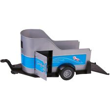 """My Life As 22"""" Horse Trailer with Jack & Fold Down Tailgate Fits 21"""" Horse"""