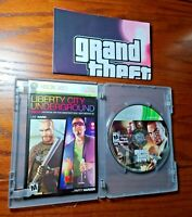 Grand Theft Auto: Episodes From Liberty City (Xbox 360, 2009) NO CASE