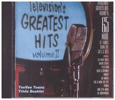 Television's Greatest Hits CD - Vol. 2 From the 50s and 60s BRAND NEW