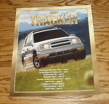 Original 2001 Chevrolet Tracker Sales Brochure 01 Chevy