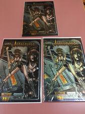 Avengelyne #1 Chromium cover, 3 copies. 1 VF, 2 NM
