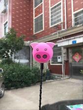 Cute Pink Piglet Pig Antenna Balls Car Aerial Ball Antenna Topper & Decor Ball