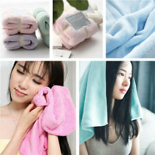 Gym Sports Soft Velvet Towel Workout Face Sweat Wash Cloth Hand Towels 34*80cm