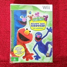 SESAME STREET READY, SET, GROVER! The VideoGame - Nintendo Wii ~PAL~ Sealed!