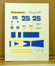 ALFA ROMEO MONTREAL Watkins Glen 1973 RGM BBR decals 1:43
