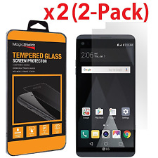 2 Pack MagicShieldz Premium Tempered Glass Screen Protector for LG V20
