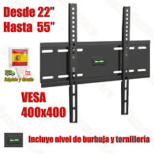 SOPORTE TV PARED FIJO LCD LED PLASMA OLED 32 36 37 39 40 42 43 47 48 49 50 52 55