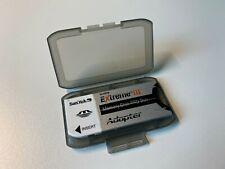 SanDisk MemoryStick Pro Duo aud MemoryStick Adapter