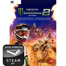 MONSTER ENERGY SUPERCROSS 2 THE OFFICIAL VIDEOGAME PC STEAM KEY