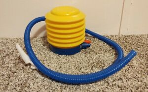 Foot Air Pump Inflator for exercise ball, PUMP ONLY AND BOX ONLY.