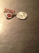 CINCINNATI REDS LOGO PIN, LIMITED EDITION, PETER DAVID