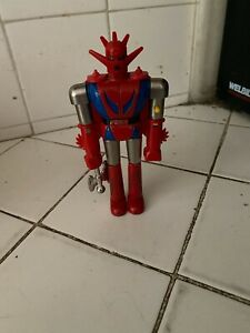 Vintage Robot Y & K Toy Japan with Axe
