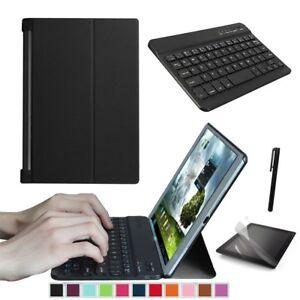 Custodia Con Tastiera Bluetooth per Lenovo Yoga Tab 3 10.1 YT3-X50F X50L