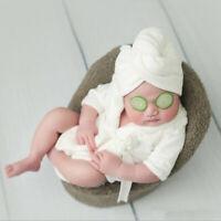 Kinder Säugling Baby Fotografie Foto Requisiten Foto-Shooting Kostüm Bademantel