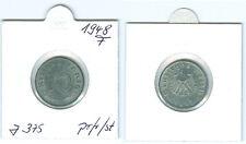 Alliierte Besatzung 10 Reichspfennig 1948 F  prägefrisch bis stempelglanz