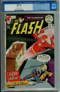 FLASH #212 CGC 9.6 OWW GIORDANO art ELONGATED MAN