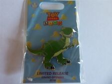 Disney Trading Pin 129478 Loungefly - Toy Story Land Grand Opening - Rex