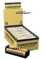 Counter Top Display of ONE DOZEN - UNREFINED 79mm Cigarette Rolling Machines