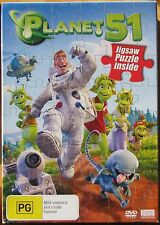 PLANET 51...BRAND NEW AND SEALED WITH JIGSAW PUZZLE INCLUDED