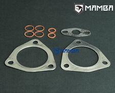 Turbo gasket set for MAMBA GREDDY TRUST TD05H 14B 16G 18G w/ 3 bolt triangle Hsg