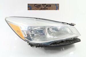 OEM 2013 2014 2015 2016 Ford Escape Halogen Headlight (Right/Passenger)