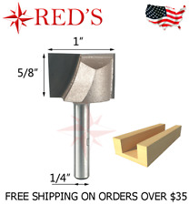 """Tideway Carbide IND RC03030804 1//2/"""" x 8° LEIGH dovetail 1//4/"""" shank router bit"""