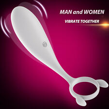 Couples-Vibrating-Waterproof Penis-with-Ring-Clitoral Stimulator Women G-spot