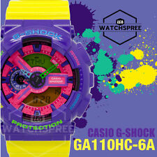 Casio G-Shock Hyper Colors Series Watch GA110HC-6A