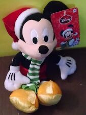 Mickey Mouse w/ Green & White Scarf & Red Pants Christmas Unisex 3 yrs New 2014