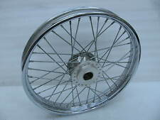 "Harley Davidson 21"" Chrome Front Laced Spoke Wheel Dyna Sportster narrow glide ?"