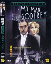 My Man Godfrey (1936) William Powell / Carole Lombard DVD NEW *FAST SHIPPING*