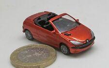 AUTOVETTURA P002: Peugeot 206 CC zeus arancione mead