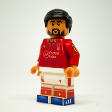 Custom LEGO Nottingham Forest Football Minifigure Tiago Silva