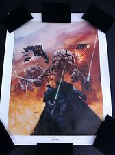 VINTAGE STAR WARS DARK EMPIRE II PRINT 1994 DAVE DORMAN S/N Lim Ed. 19 x 24