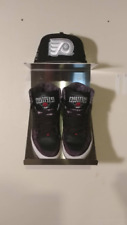 Adjustable Sneaker and Hat Stainless Steel Wall Mount Display