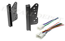 ★ 2000-2011 TOYOTA DOUBLE DIN DASH KIT & WIRING HARNESS CAR STEREO INSTALL DVD ★