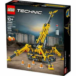 LEGO 42097 Technic Compact Crawler Crane Construction Set NEW**