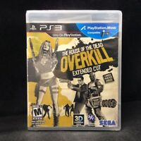 The House of the Dead: Overkill - Extended Cut (Sony PlayStation 3) BRAND NEW