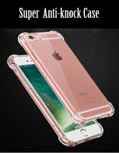Soft Clear Bumper Case for iPhone 7 8 7+ 8+ Plus Shockproof Heavy Duty
