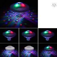 Floating Underwater LED 7 Color Changing Light Swimming Pool Outdoor Garden