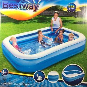 Bestway Swimming POOL 262 x 175 x 51 cm Family Kinderpool PLANSCHBECKEN