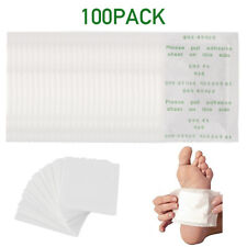 100X Detox Foot Pads Patch Detoxify Toxins + Adhesive Keeping Fit Health Care '