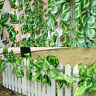 Green Artificial Ivy Vine Leaf Garland Plants Fake Foliage Flowers-Decor-2.5m