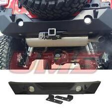 07-16 Jeep Wrangler JK Sahara Rock Crawler Rear Bumper with Back Light Bracket