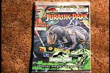 JURASSIC PARK #3 POLYBAGGED WITH TRADING CARDS COMIC BOOK VF/NM