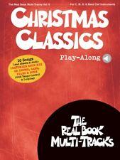 Christmas Classics Play-Along Sheet Music Real Book Multi-Tracks V9 000236808