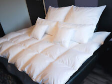 Daunendecke Bettdecke Decke Füllung 800g 90% Gänsedaunen Weiße Bisse 155x220 cm