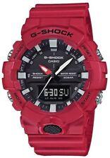 Casio G-Shock Mens Wrist Watch GA800-4A GA-800-4A Red Super Illumunator