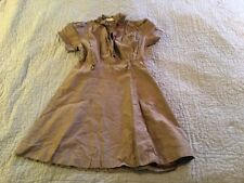 VINTAGE OFFICIAL GIRL SCOUTS BROWNIE DRESS NEW YORK CITY  UNIFORM